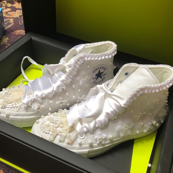 03dba272dfa0c Converse All Star costume made for bride to be